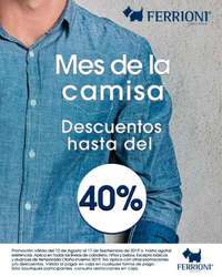 Mes de la camisa - hasta 40% de descuento