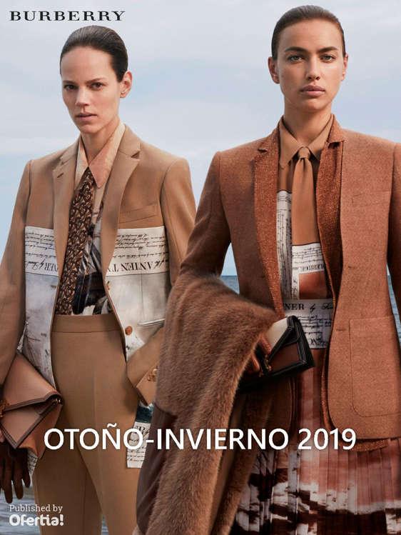 Ofertas de Burberry, Otoño-Invierno 2019