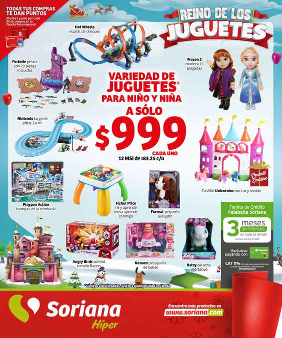 Ofertas de Soriana Híper, Folleto Soriana Hiper 291119 Central