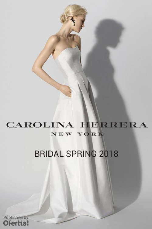 Ofertas de Carolina Herrera, Bridal 2018