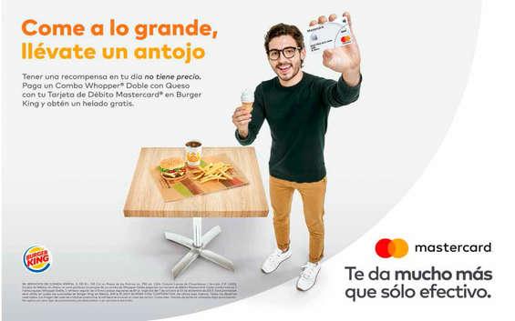 Ofertas de Burger King, Come a lo grande