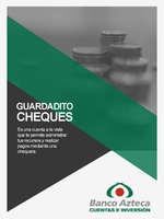 Ofertas de Banco Azteca, Guardadito cheques