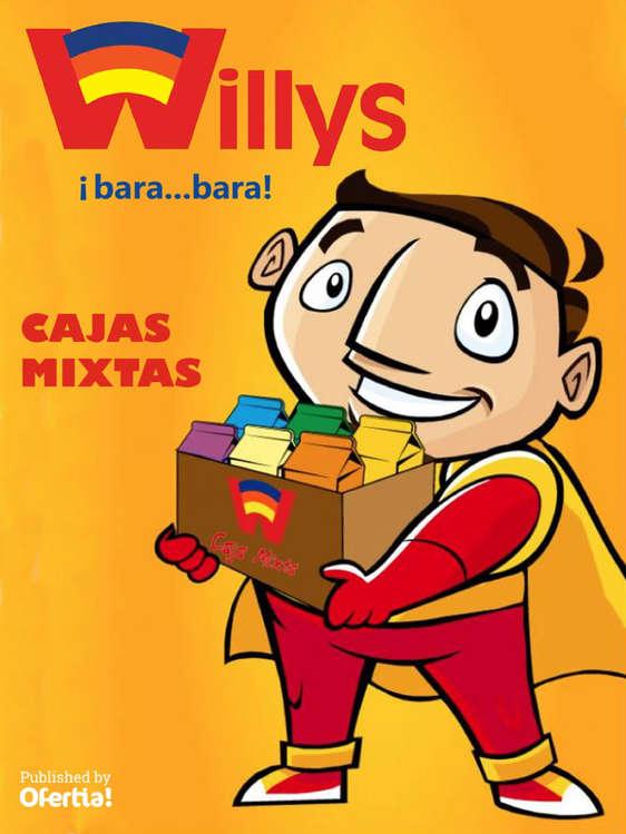 Ofertas de Abarrotes Willys, Cajas mixtas