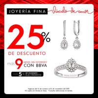 25% de descuento en joyería