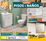 Ofertas de The Home Depot, Expo pisos y baños