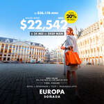 Ofertas de Mundo Joven, Europa soñada