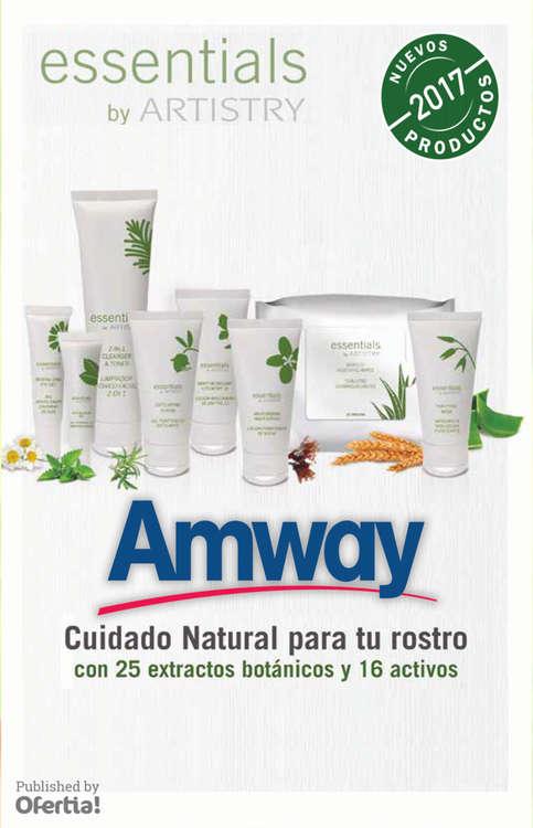 Ofertas de Amway, Nuevos productos 2017