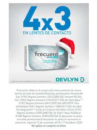 4x3 en lentes de contacto