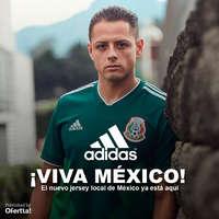 ¡Viva México! Jersey Selección Mexicana