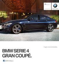 Ficha Técnica BMW 430iA Gran Coupé Sport Line Automático 2017
