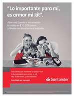 Ofertas de Santander, Lo importante para mi