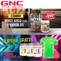 GNC promociones agosto