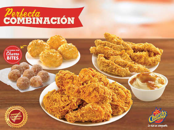 Ofertas de Church's Chicken, Perfecta Combinación