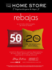 The Home Store - Rebajas hasta 50% + 20 adicional