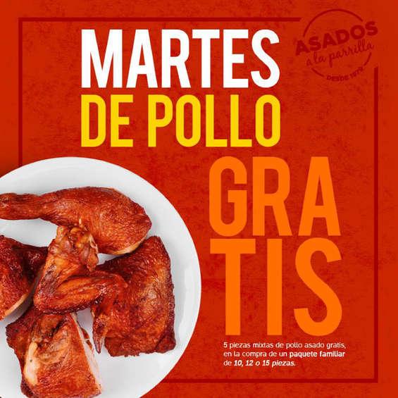 Ofertas de El Pollo Pepe, Martes de pollo gratis