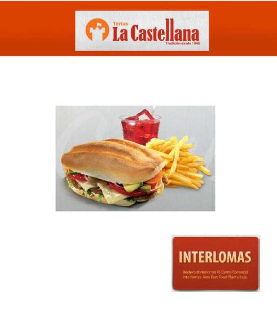 Ofertas de Tortas La Castellana, Menú Interlomas