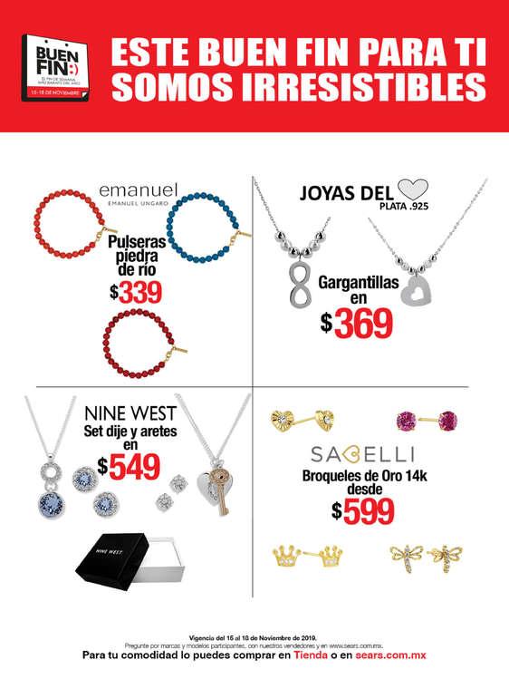 Ofertas de Sears, Este Buen Fin para ti somos irresistibles - Accesorios