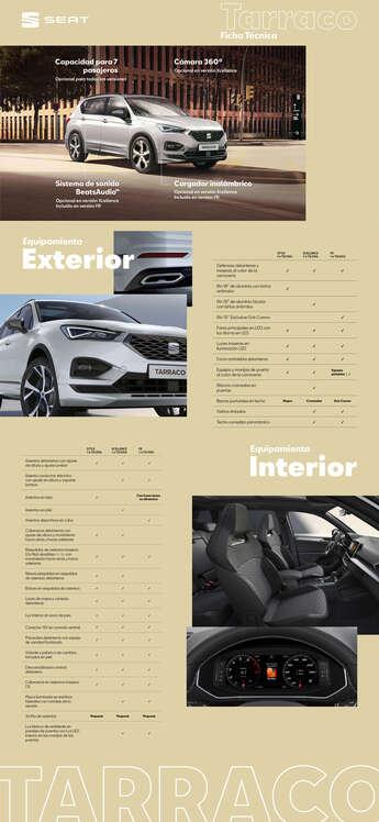 Ofertas de SEAT, SEAT Tarraco 2021