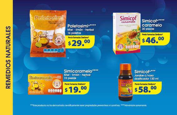 Ofertas de Farmacias Similares, Folleto Diciembre