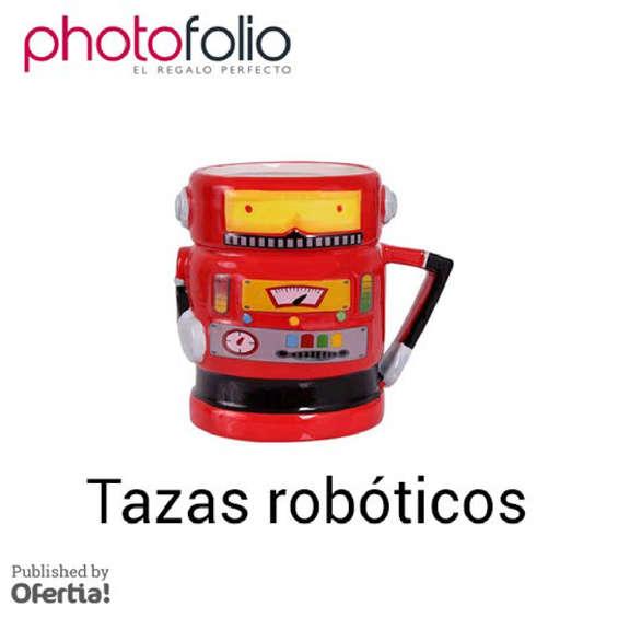 Ofertas de Photofolio, Tazas robóticos