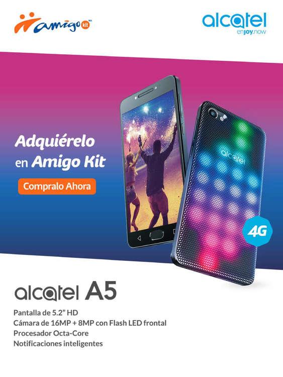 Ofertas de Telcel, Alcatel A5