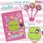 Ofertas de Mika & Friends, Pluma Glitter