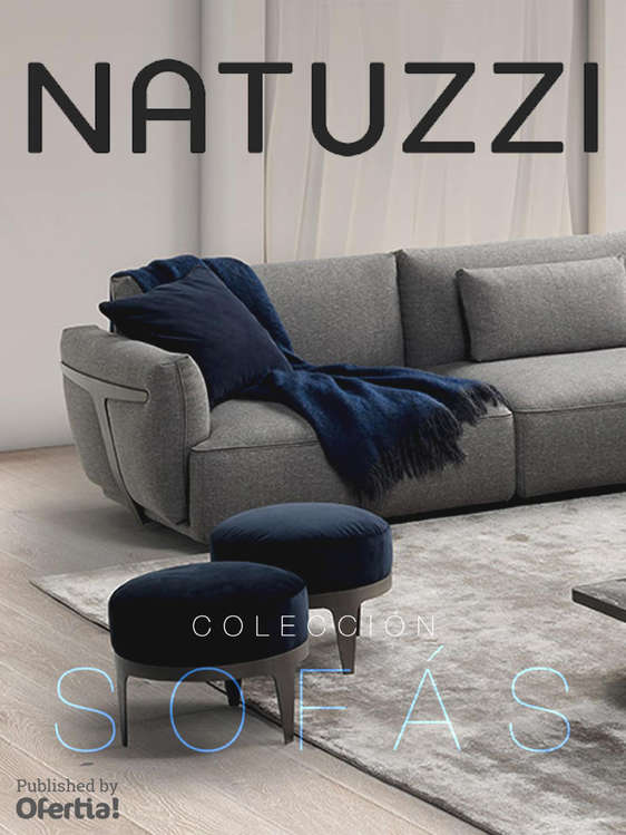Natuzzi ofertas cat logos y folletos ofertia for Sofas natuzzi ofertas