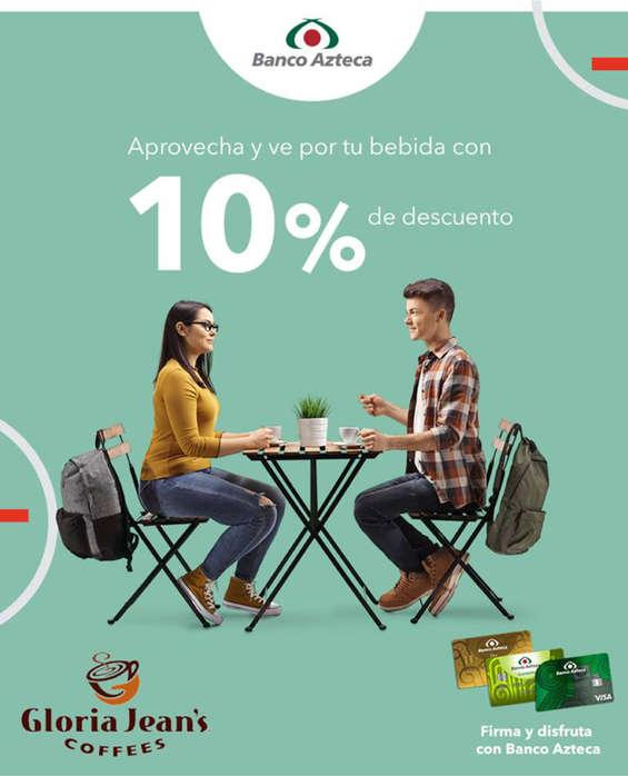 Ofertas de Gloria Jean's Coffees, 10% de descuento