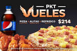 Ofertas de Pizzalianni's Express, PKT VUELES