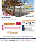 Ofertas de Euromundo, Puerto Escondido