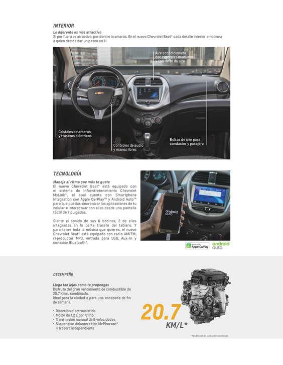 Ofertas de Chevrolet, Chevrolet Beat 2018