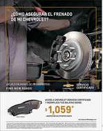 Ofertas de Chevrolet, Chevrolet Servicio Certificado