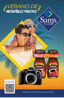 Ofertas de Sam's Club, Verano de increíbles precios
