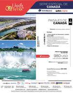Ofertas de Petra Viajes, SERIE ESPECIAL DE CANADÁ