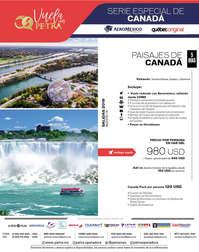 SERIE ESPECIAL DE CANADÁ