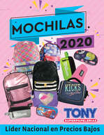 Ofertas de Tony Super Papelerías, Mochilas