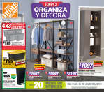Ofertas de The Home Depot, Expo Organiza y Decora