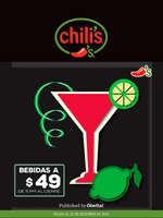 Ofertas de Chili's, Jueves de chilis
