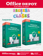 Ofertas de Office Depot, Regreso a clases - Kaspersky