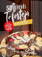 Ofertas de 50 Friends, Festeja tu cumpleaños con una pizza de Nutella