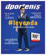 Ofertas de Dportenis, Revista Noviembre
