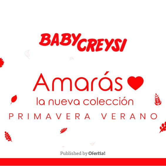 Ofertas de Baby Creysi, Baby Creysi | Primavera - Verano
