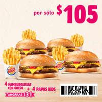 Cuponera Burger King