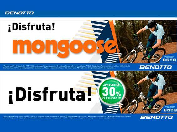 Ofertas de Benotto, Disfruta Mongoose
