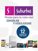 Ofertas de Suburbia, Hasta 12MSI en consolas y videojuegos