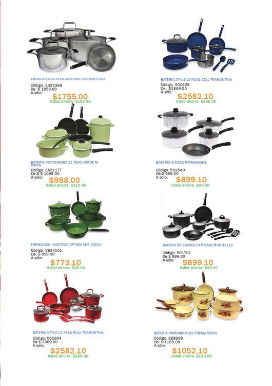 Menaje cocina en tlalnepantla cat logos ofertas y for Menaje cocina barato