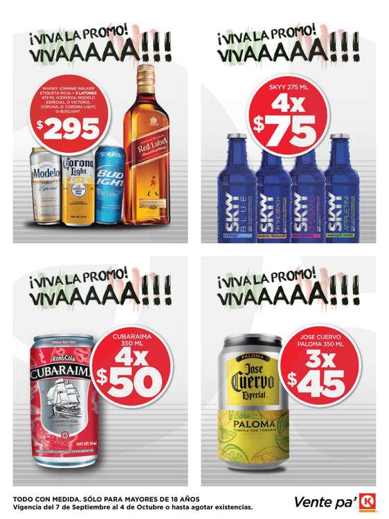 Ofertas de Circle K, Promociones Villahermosa y Tuxtla