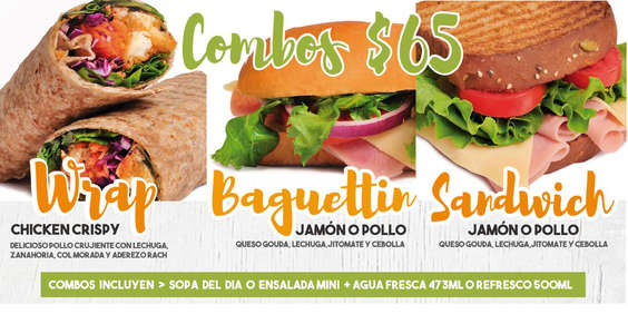 Ofertas de Chicken House & Salads, Combos