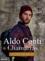 Ofertas de Aldo Conti, Otoño Invierno Chamarras