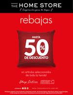 Ofertas de The Home Store, Rebajas Hasta 50% de Descuento